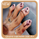 Ghastly Halloween Nail Art by Triangulum Studio