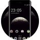 Moon Surface 3d Globe Launcher Theme by Mobo Theme Apps Team