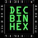 Decimal Binary Hex Converter by Jonas Oppenheim
