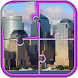 Cities Puzzle Game by Puzzles and MatchUp Games