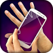 AR transparent hand simulator by AppAche