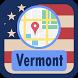 USA Vermont Maps