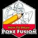 How to Draw Poke 2017 by JalurGaza