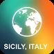 Sicily, Italy Offline Map by EasyNavi