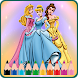 New Coloring Games Princess and Unicorn