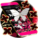 Neon Color Butterfly Diamond Theme by Creative Design Theme