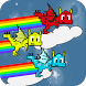 Rainbow Dragon Runner by Math Education