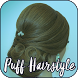 Puff Hairstyle Step by Step Video