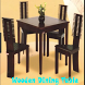Wooden Dining Table by gibran