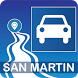 Mapa vial de San Martín - Perú by DePeru.com