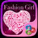 Fashion Girl Go Launcher Theme by Freedom Design