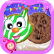 Cartoon Cookie Maker-A Sweet Dessert Cooking Game by kiddy kitchen games