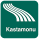 Kastamonu Map offline by iniCall.com