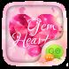 (FREE) GO SMS GEM HEART THEME by ZT.art