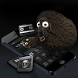 Cute goat Theme sheep Theme Black matte wallpaper by Hu Guangyu