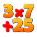 Number Tweak by Push Button Volcano