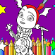 Learn To Color Vampires (Vampirina Coloring games) by GamePlayStudio.net