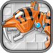 Toy Robot Rampage Smilodon War by joy4touch
