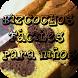recetas bizcochos fácile niños by tutoriales,manuales,infantil,ocio y vacaciones