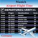 Munich Airport Flight Time by AsoftTech
