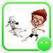 Stickey Mr Peabody by Awesapp Limited