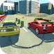 Impossible chained cars crash: 3D break chain game