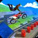 Crazy bike stuntman BMX tracks