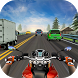 Racing in Moto Highway Racer by Venom Mobile Games