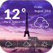 Weather& Clock Widget Forecast by Applock Security