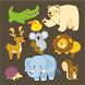 Kids Zoo: Animals Sound & Info by Akshar Clearing Agency