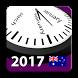 2017 Aussie Holiday Calendar by Rhappsody Technologies
