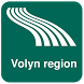 Volyn region Map offline
