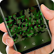 Green Camo Keyboard Army Soilder
