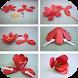 Origami Flower Instruction by Aroflexy