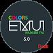 Colors theme Dark EMUi5 huawei by ASNA Taj