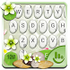 Cobblestone Keyboard Theme by Fashion Cute Emoji