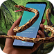 Snake on Screen Hissing Joke: Realistic Animation by Fun Apps Valley