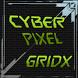 GridX Go Launcher EX by Cyber Pixel