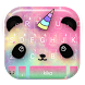 Cartoon Unicorn Panda Keyboard Theme by Fashion theme for Android-2018 keyboard