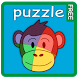 33 Animal puzzles for toddlers by Brainy Ape Studio LLP