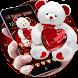 Cute Teddy Bear Love Theme by New Design Themes 2018