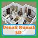 Ide Desain Denah Rumah 3D Terbaru by Developer Senja