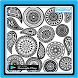 Zentangle Pattern Ideas by YASI Apps