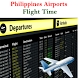 Philippines Airports Flight Time by AsoftTechnology