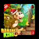 Banana Monkey Jungle King kong by Anna devloper
