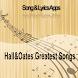 HALL & OATES GREATEST SONGS by Bohirinc Studio