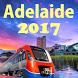 Adelaide Metro Train Tram Map by SGAPP