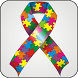 Autism Ribbon doo-dad by Dark Matter Lab