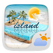 Island Weather Widget Theme by GO Dev Team X