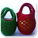 Crochet Bags by blackpaw